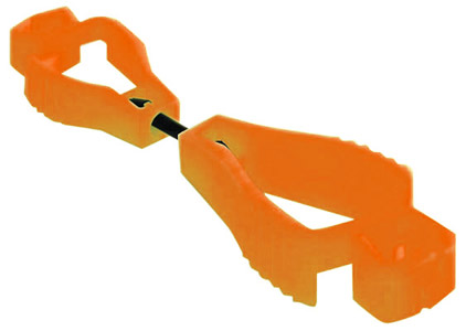Clip - Glove ProChoice Clip Keeper - Orange