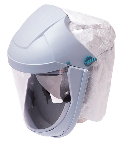Respirator - Hood Airline Refinishers Kit Honeywell AirVisor DMAK-0201 c/w Waist Belt/Regulator