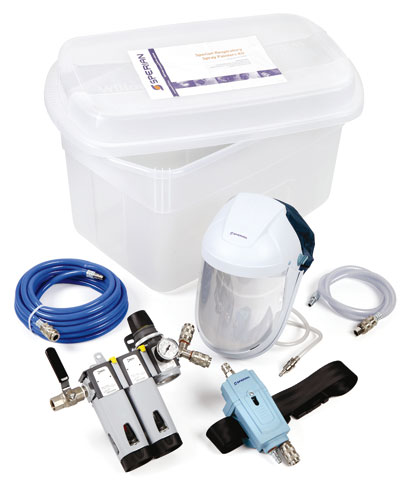 Respirator Kit - Airline Spray Painters Honeywell c/w Airvisor/Waist Belt Regulator/Filter/Hose