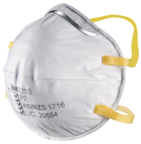 Respirator - Disposable 3M 8210 Classic P2