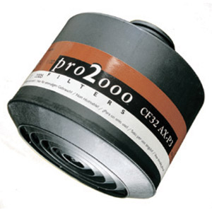 Filter - Pro2000 Scott CF22 A2P2/P3 for AVIVA 40/Proflow SC120 Blower