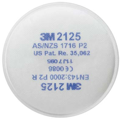 Filter - P2 3M Disc 2125 Particulate 2000 Series