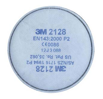 Filter - 3M Disc 2128 GP2  Particulate/Organic Vapour 2000 Series