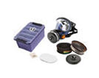 Respirator Kit - Full Face Sundstrom SR200 PC Silicone c/w A1B1E1K1 & P3 Filter/PreFilters & Box
