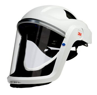 Respirator Head Top - Faceshield 3M Versaflo M-107 FR Faceseal use with TR-300/TR-600/Jupiter PAPR Turbo Units/V-500E Air Supply Unit