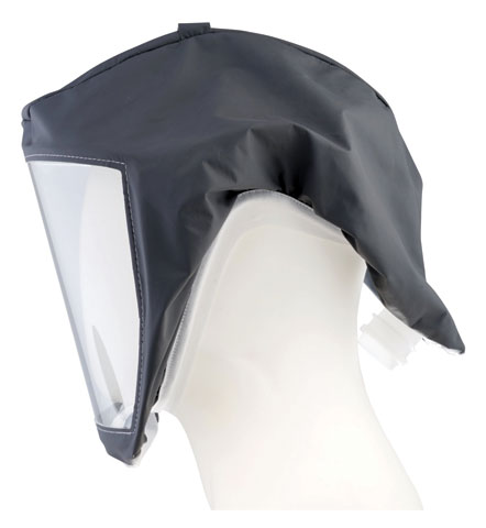 Respirator Head Top - Headcover/Visor 3M Versaflo S333SG for use with TR-300/TR-600 PAPR Turbo Units - Small