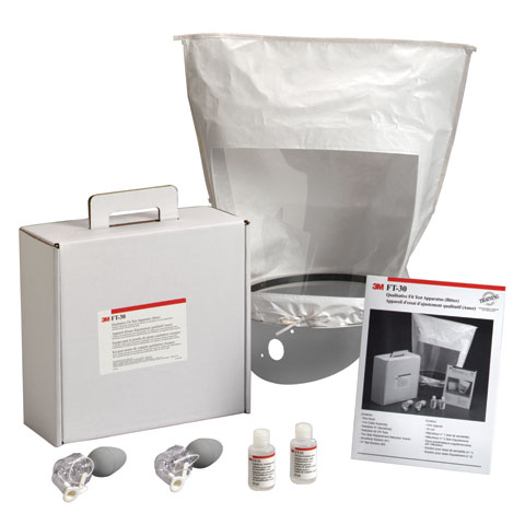 Fit Test Kit - Qualitative 3M FT-10 Test Apparatus Sweet (Saccharin) c/w Carry Case