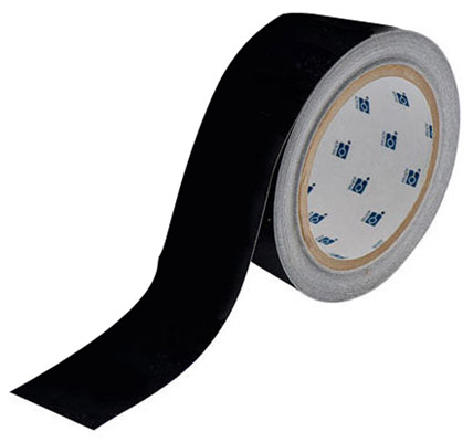 Tape - Polyester Indoor Floor Marking Toughstripe 51mm x 30M - Black