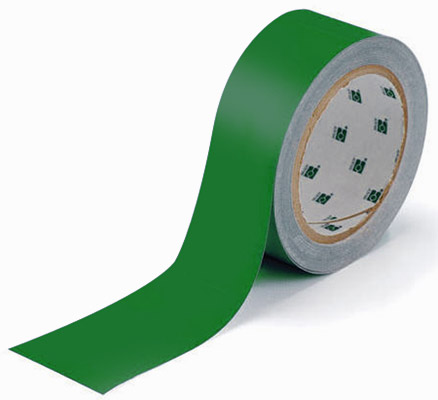 Tape - Polyester Indoor Floor Marking Toughstripe 51mm x 30M - Green