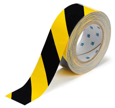 Tape - Polyester Indoor Floor Marking Toughstripe 51mm x 30M - Black/Yellow