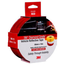 Tape - Vehicle 3M Diamond Grade Edge Sealed Retail Pack 50.8mm x 15M - Red 983-72 ES