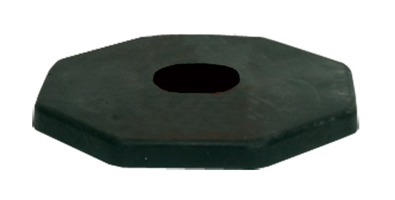 Bollard Base - 8kg Rubber Base