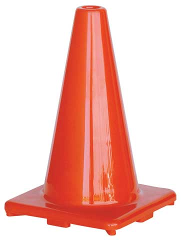Cone - Traffic HI VIS Orange 300mm