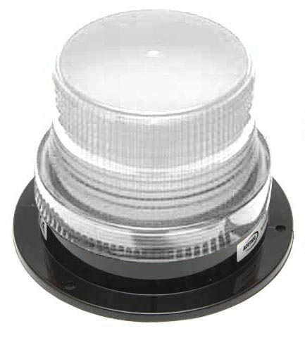 Beacon - LED Small ACOT500 Hardwire 12-24V DC - Clear