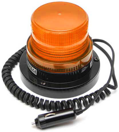 Beacon - LED Small ACOT500 Magnetic Base 12-24V DC - Amber