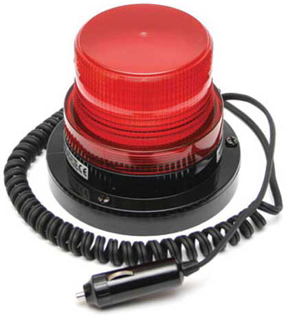 Beacon - LED Small ACOT500 Magnetic Base 12-24V DC - Red