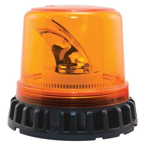 Beacon - LED Large Rotating ACOT500 Titan Hardwire 12-24V DC - Amber