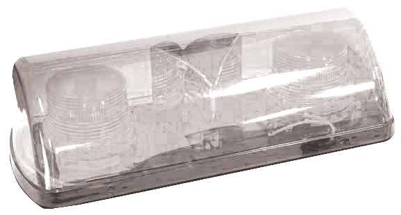 Beacon - LED Mini Bar ACOT500 Magnetic Base & Cord 12-24VDC - Clear