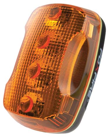 Light - LED Personal Safety c/w 4 H/I LEDs & 3 Flash patterns - Amber