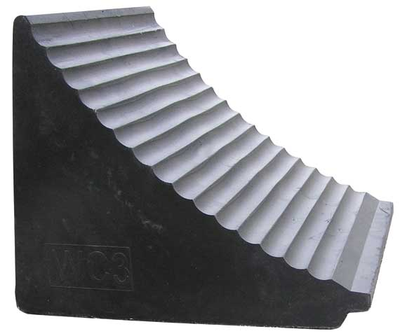 Wheel Chock - Rubber Heavy Duty 305mm x 260mm x 300mm
