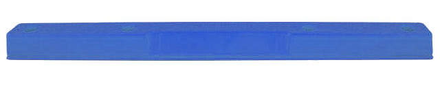 Wheel Stops - Polyethylene Compliance Vehicle Parking - No Fixings 160mm(W) x 100 (H) x 1700mm (L)  - Blue
