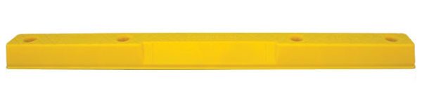 Wheel Stops - Polyethylene Compliance Vehicle Parking - No Fixings 160mm(W) x 100 (H) x 1700mm (L) - Yellow