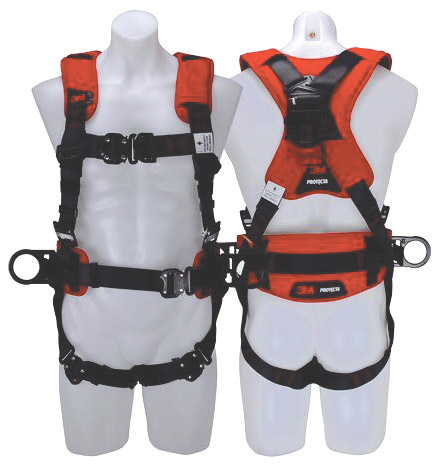 Harness - All Purpose 3M Protecta P200 1161683 Auto Reset Lanyard c/w Rear D Rings and Snap Hook - XL