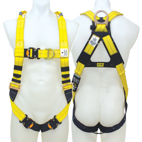 Height safety belts harnesses lanyards safetyquip for Sala safety harness