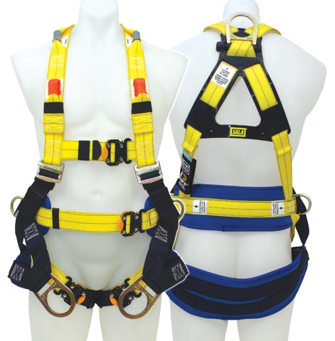 Harness - Sala Delta II TowerWorkers c/w Rear/Side D-Ring/Waist Belt/Frontal Belay & Con Space Loops