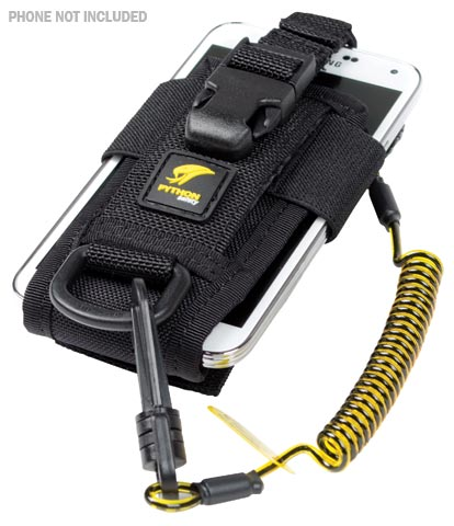Tool Holster -  Adjustable 3M 1500089 Tool Tether Radio Holster c/w Clip2Loop Coil & Dr-Micro