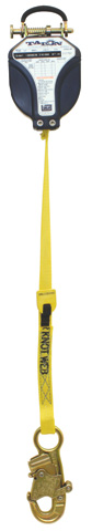 Fall Arrester - SRL 3M DBI-Sala Talon 3101000 Personal Webbing c/w Mount Handle & Snap Hook - 2.4M