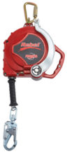 Retrieval SRL - Cable 3M Protecta Rebel 3591002 Type 3 Fall Arrest Self Retracting Lifeline for Tripod Galvanised Cable - 15.0M