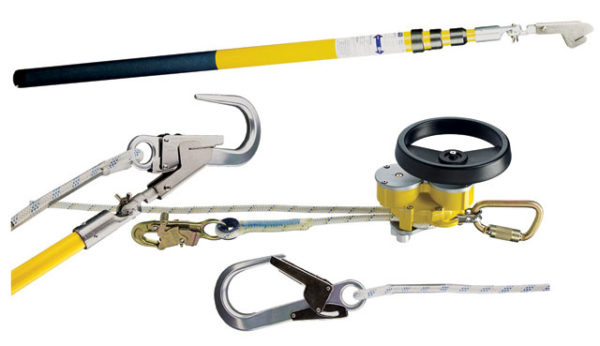 Rescue Kit -  Device 3M DBI-Sala Rollgliss R550 3329010 c/w Twin Brake Descender/Rescue Hub/Karabiner/Kermantle Rope/Fittings & Bag (Pole not included) - 10.0M