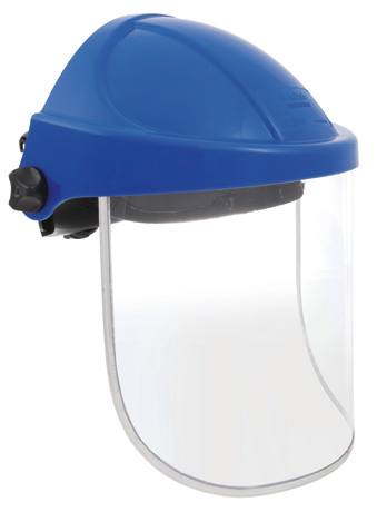 Face Shield - Clear Unisafe c/w Polycarb Visor 200 x 300