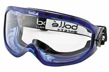Goggle - Clear Bolle Blast Splash/MI AS/AF Lens Indirect Vents Top/Bottom Foam Bound