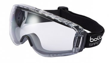 Goggle - Clear Bolle Pilot 2 Splash/MI Platinum AS/AF Lens Indirect Vented