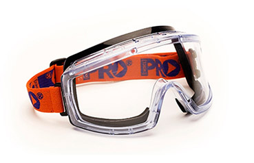 Goggle - Clear ProChoice 3700 Splash/MI AF/HC Foam Bound Indirect Vents