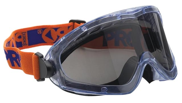 Goggle - Smoke ProChoice 3702 Splash/MI HC/AF Lens Foam Bound Indirect Vents