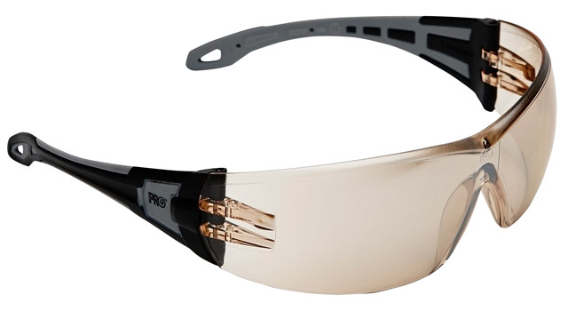 Spectacle - Brown ProChoice The General MI AF/HC Lens Black/Grey Side Arms