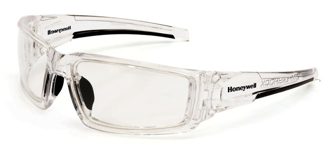 Spectacle - Clear Honeywell Hypershock HC Lens Clear Ice Frame