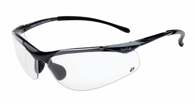 Spectacle - Clear Bolle Contour Platinum AS/AF Lens Gunmetal Frame