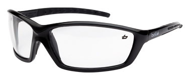 Spectacle - Clear Bolle Prowler AS/AF Lens Black Frame