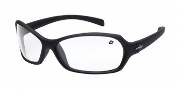 Spectacle - Clear Bolle Hurricane AS/AF Lens Black Frame