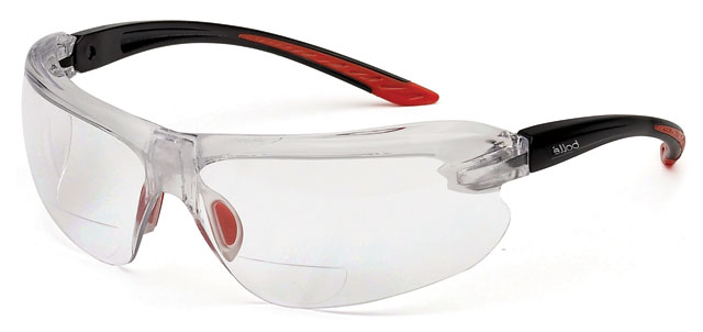 Spectacle - Clear Bolle IRI-S Diopter ALS Clear Lens - Power +1.0
