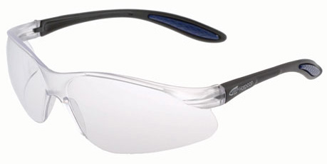Spectacle - Clear VisionSafe Harpoon HC Lens Black Frame