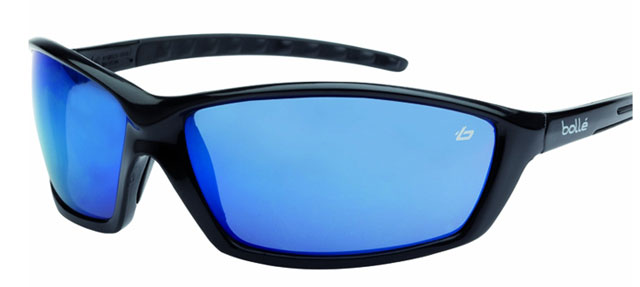 Spectacle - Blue Flash Bolle Prowler HC Lens Black Frame