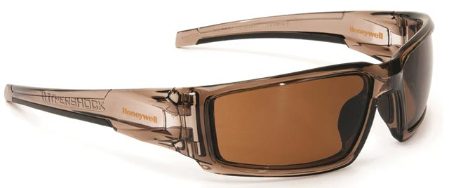 Spectacle - Polarised Brown Expresso Honeywell Hypershock HC Lens Brown Frame