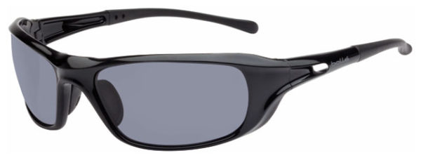 Spectacle - Polarised Grey Bolle Phantom HC Lens Black Frame