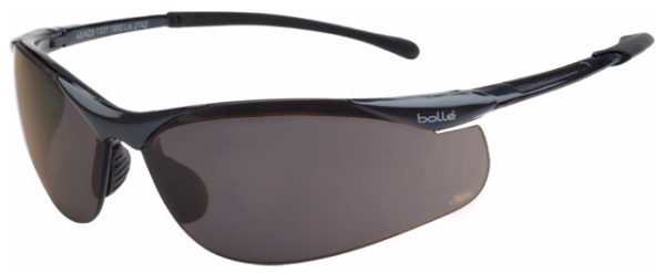 Spectacle - Polarised Grey Bolle Contour HC Lens Gunmetal Frame