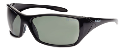 Spectacle - Polarised Grey/Green Bolle Voodoo HC Lens Smoke Frame